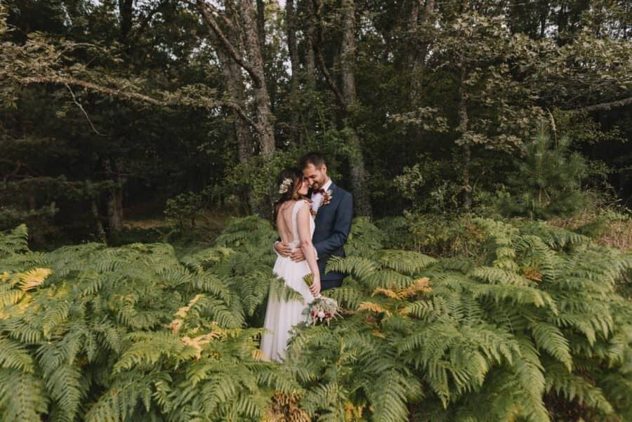 fotógrafo de bodas en el palero