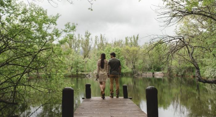 Preboda Iris y Jorge en el Bosque Finlandes, Rascafria