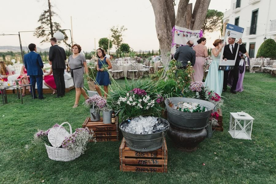 boda al aire libre avila