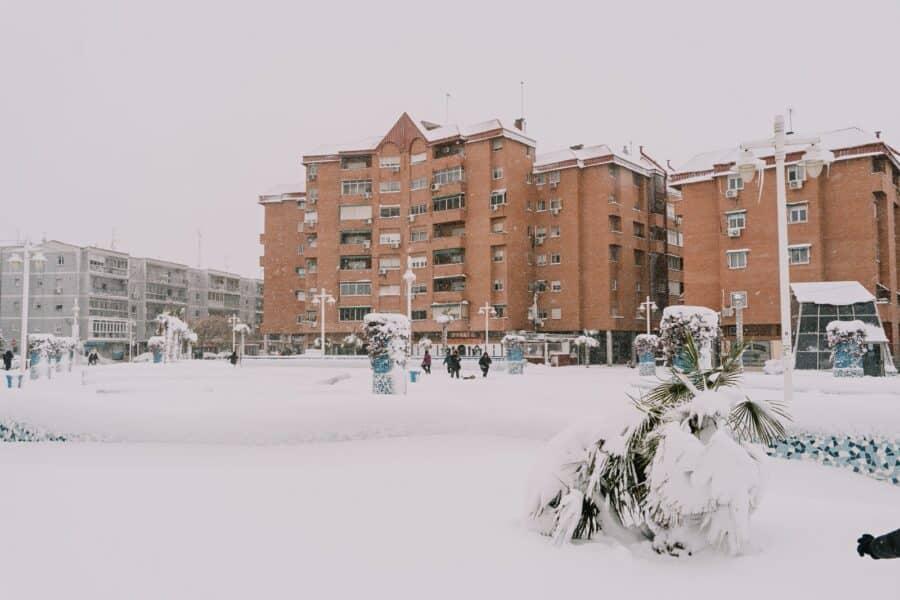 Fotos nevada Torrejón de Ardoz